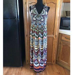 Chico's Maxi Dress Size 8
